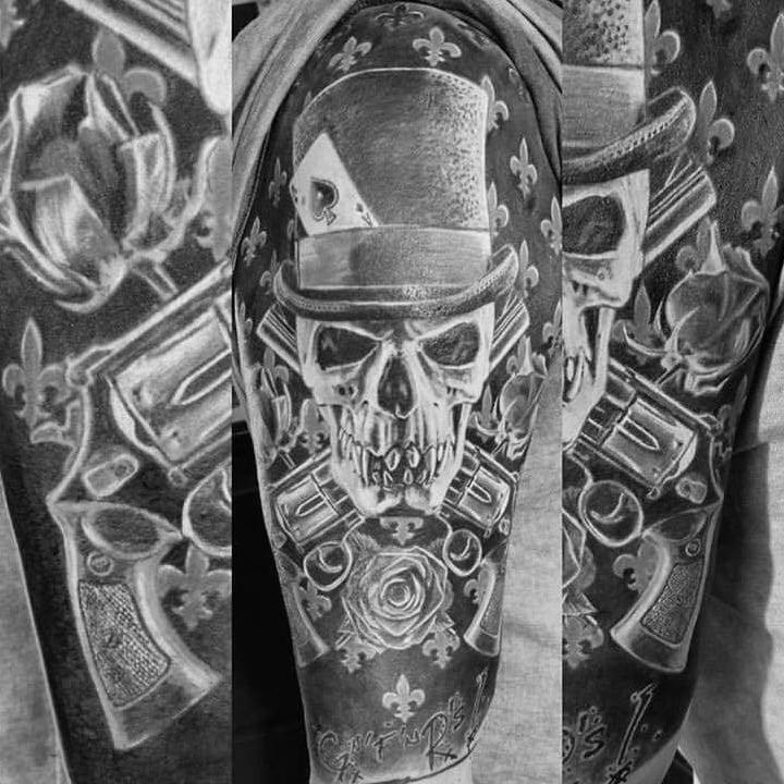 doodkop tattoo zw